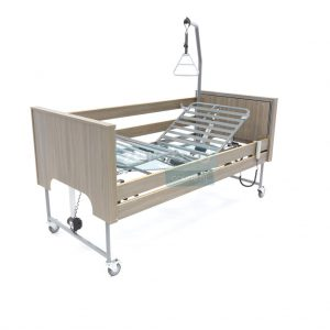 Ecofit S Deluxe Onyx Iepen Thuiszorgbed Hoog Laag Bed Seniorenbed Papagaai Zorgbedonline Productfoto