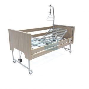 Ecofit S Deluxe Onyx Iepen Thuiszorgbed Hoog Laag Bed Seniorenbed Papagaai Zorgbedonline Productfoto