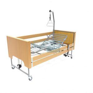 Ecofit S Plus Beuken Thuiszorgbed Hoog Laag Bed Seniorenbed Papagaai Zorgbedonline Productfoto