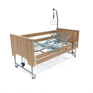 Ecofit S Plus Noten Thuiszorgbed Hoog Laag Bed Seniorenbed Papagaai Zorgbedonline Productfoto