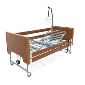 Ecofit S Plus Walnoot Thuiszorgbed Hoog Laag Bed Seniorenbed Papagaai Zorgbedonline Productfoto